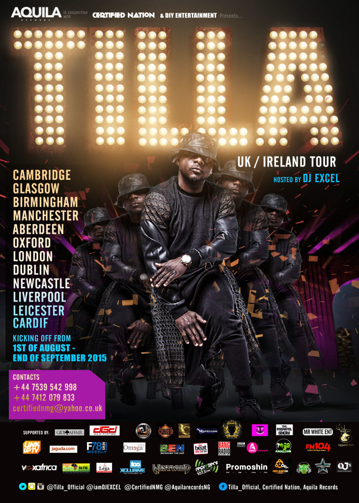 Tilla UK & Ireland Tour 2015