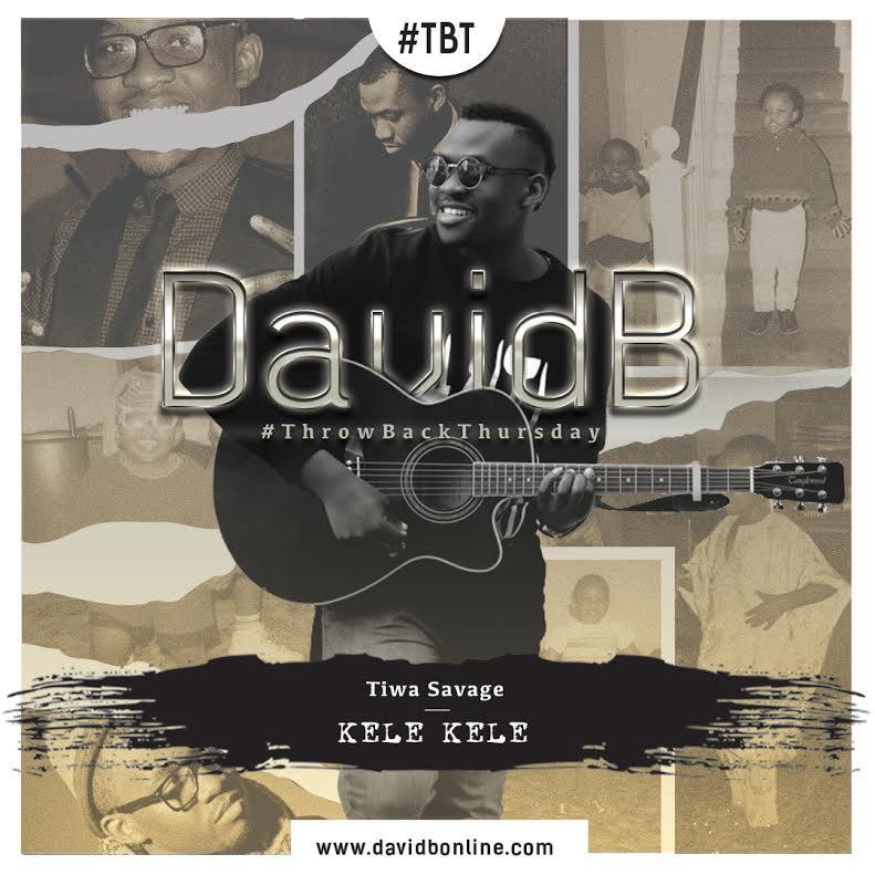 "VIDEO: DavidB Covers Tiwa Savage's ""Kele Kele"""
