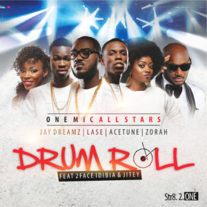 One Mic Allstars ft. 2Face Idibia X Jitey Peters - Drum Roll