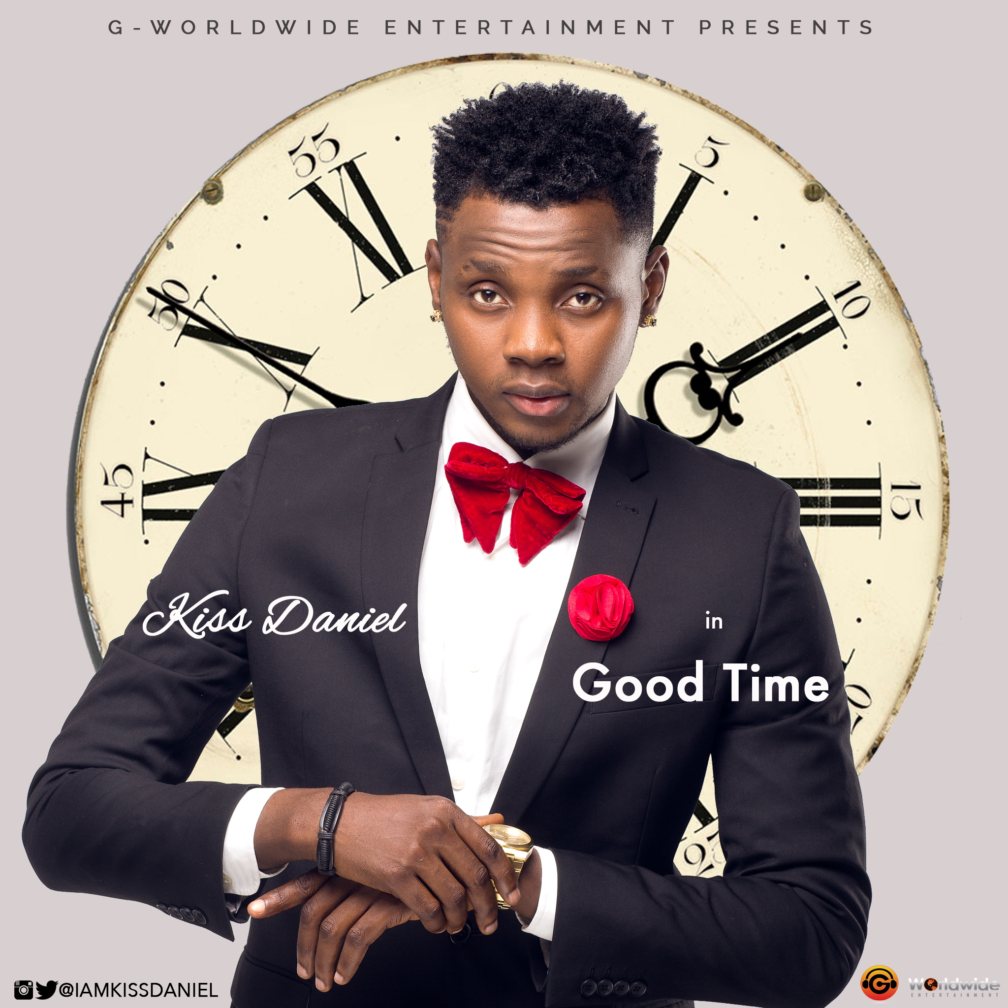 Kiss Daniel - Good Time - Hg2ArtWork psd