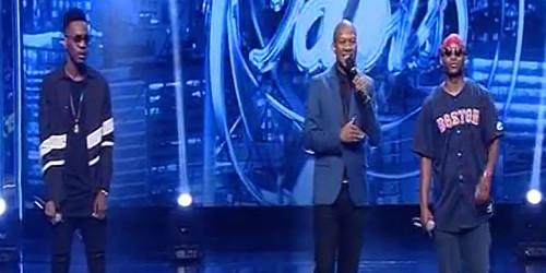 VIDEO: Patoranking Performs w/ Khuli Chana on SA Idols | Sold Out #Born2Win Concert