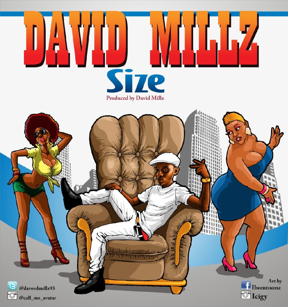 David Millz - Size