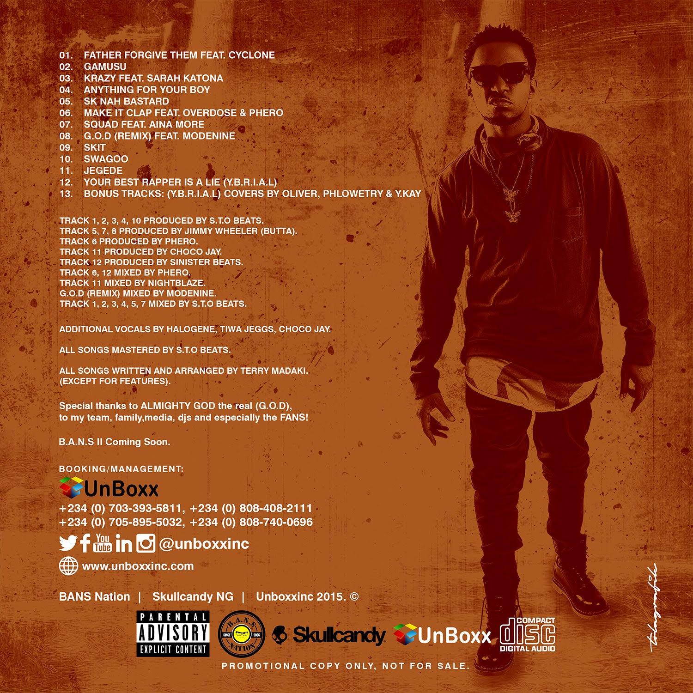 T.R G.O.D Tracklist