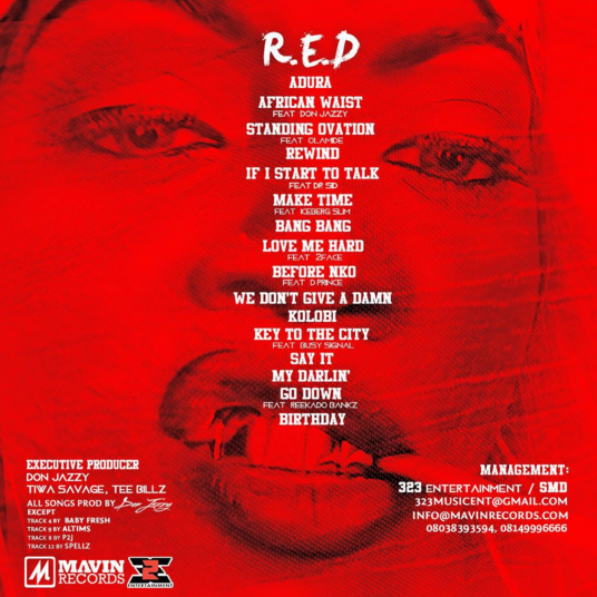 "Tiwa Savage – ""R.E.D"" 