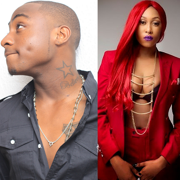 Davido Gives Cynthia Morgan An Epic Dab Despite Her Insults
