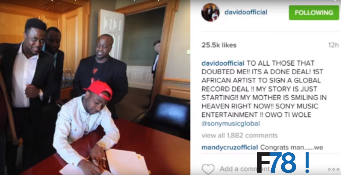 F78 NEWS: Davido To Sony Music, Shatta Wale & Samini Settle Beef