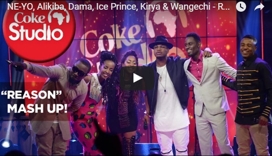 VIDEO: Ne-Yo, Ice Prince, Alikiba, Dama, Kirya, Wangechi - Reason (Mash Up) | Coke Studio Africa