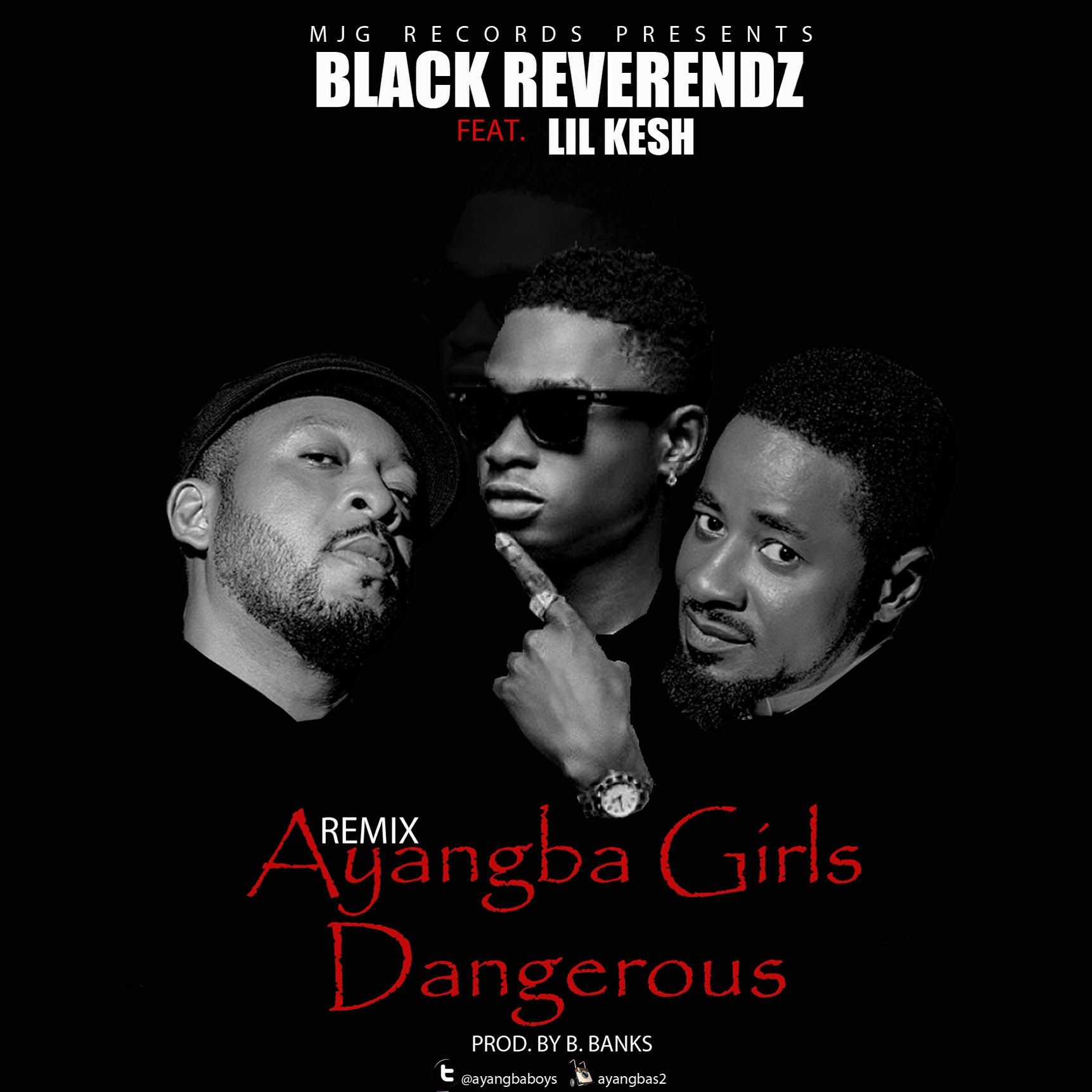 VIDEO: Black Reverendz ft. Lil Kesh - Ayangba Girls Dangerous (Remix)