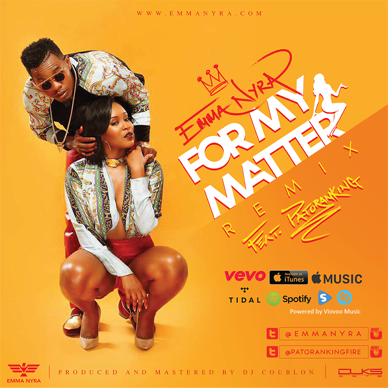 Emma Nyra Patoranking For My Matter Remix Art