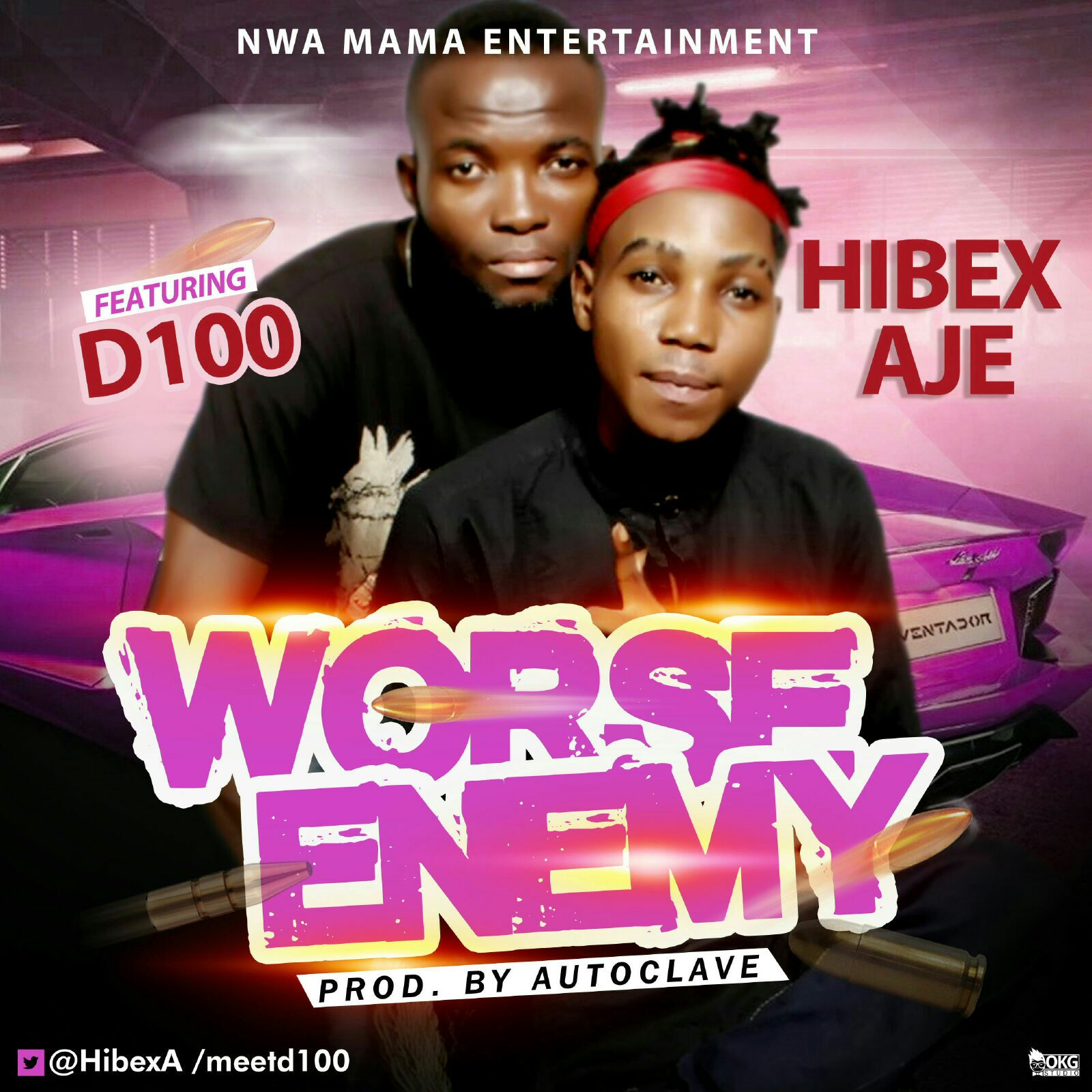 HIbex Aje - Worse Enemy ft. D100