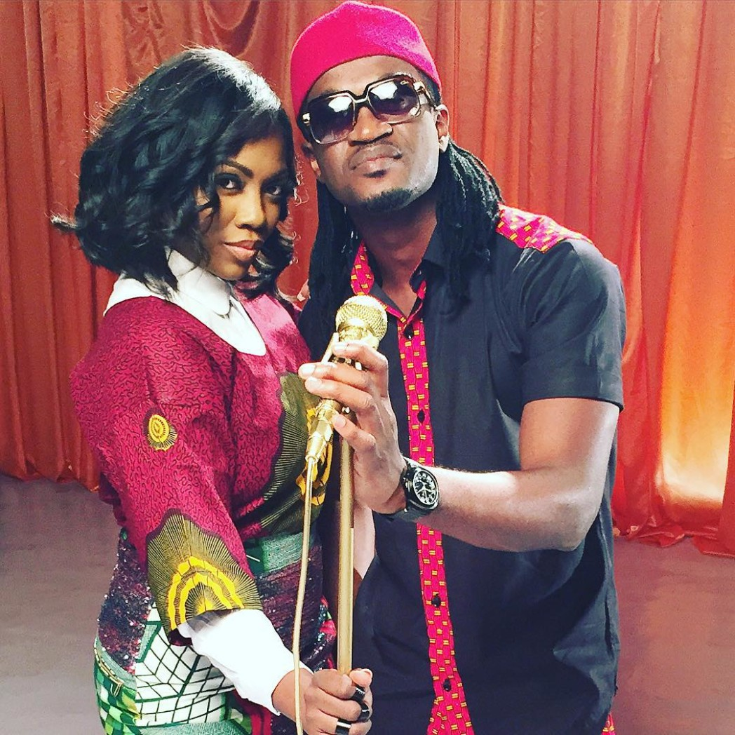 Paul Okoye Tiwa Savage