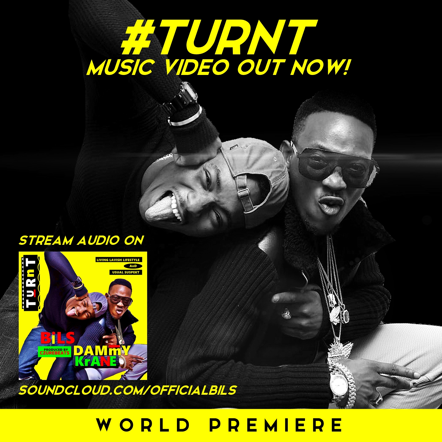 VIDEO: Bils X Dammy Krane - Turn Up