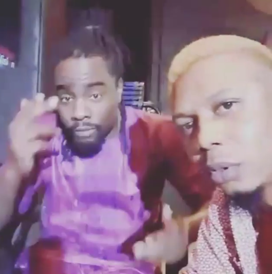 VIDEO: Wale And Reminisce Working On A New Song?