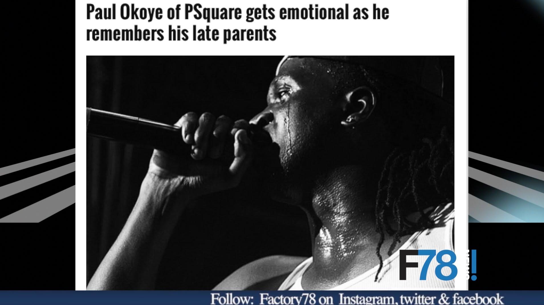 F78 NEWS: P-square break-up? Seal reveals his full Nigerian names X Kevin Hart Vs Google
