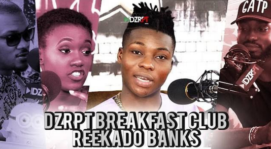 VIDEO: Reekado Banks Talks To The Breakfast Club on DZRPT TV