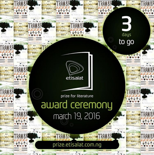 3 Days To Go: All is Set for Etisalat Prize for Literature Grand Finale