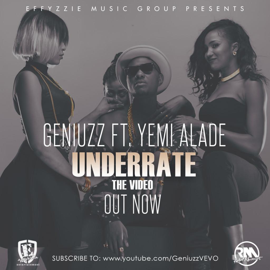 VIDEO: Geniuzz ft. Yemi Alade - Underrate