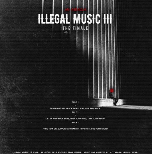 Mixtape Review: M.I Abaga – iLLegal Music 3 (The Finale)
