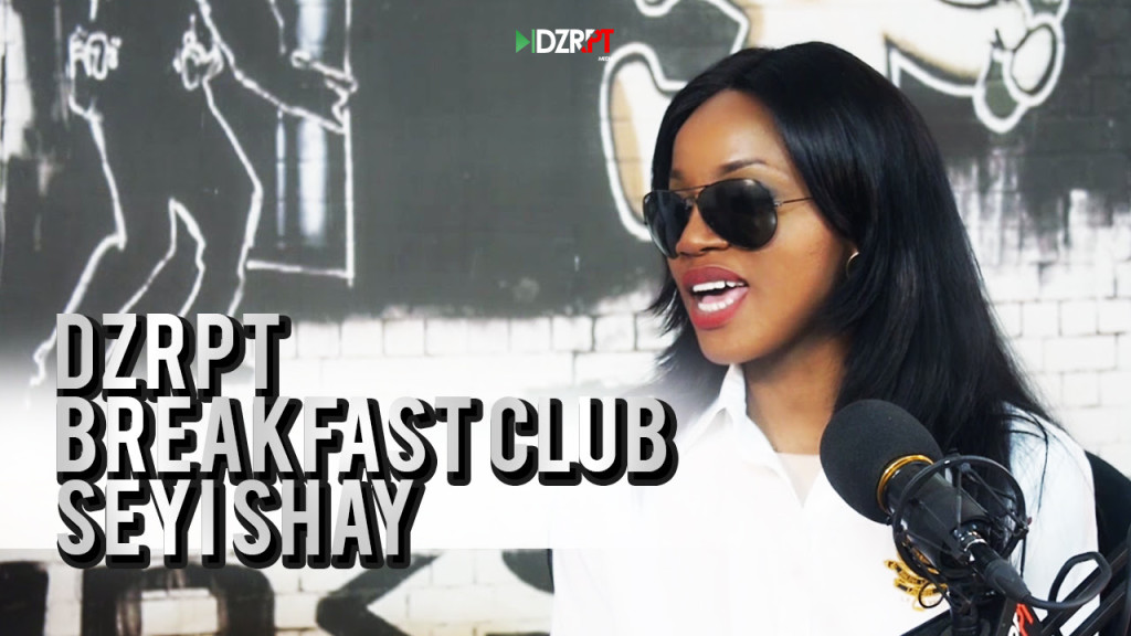 VIDEO: Seyi Shay Talks To The Breakfast Club on DZRPT TV