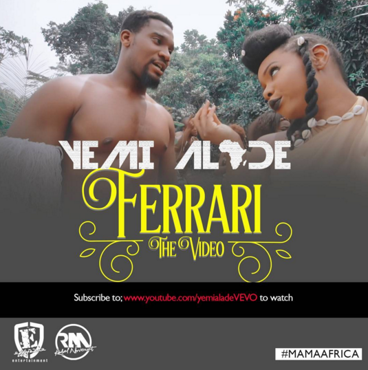 VIDEO PREMIERE: Yemi Alade - Ferrari