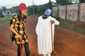"Timaya & Flavour Shoot Video For New Collaboration ""Money"""