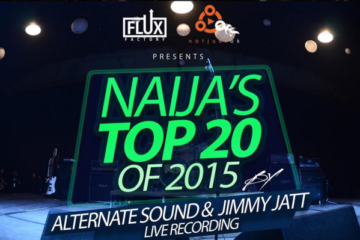 Alternate Sound & Jimmy Jatt Record Live Session of Naija's Top 20 of 2015
