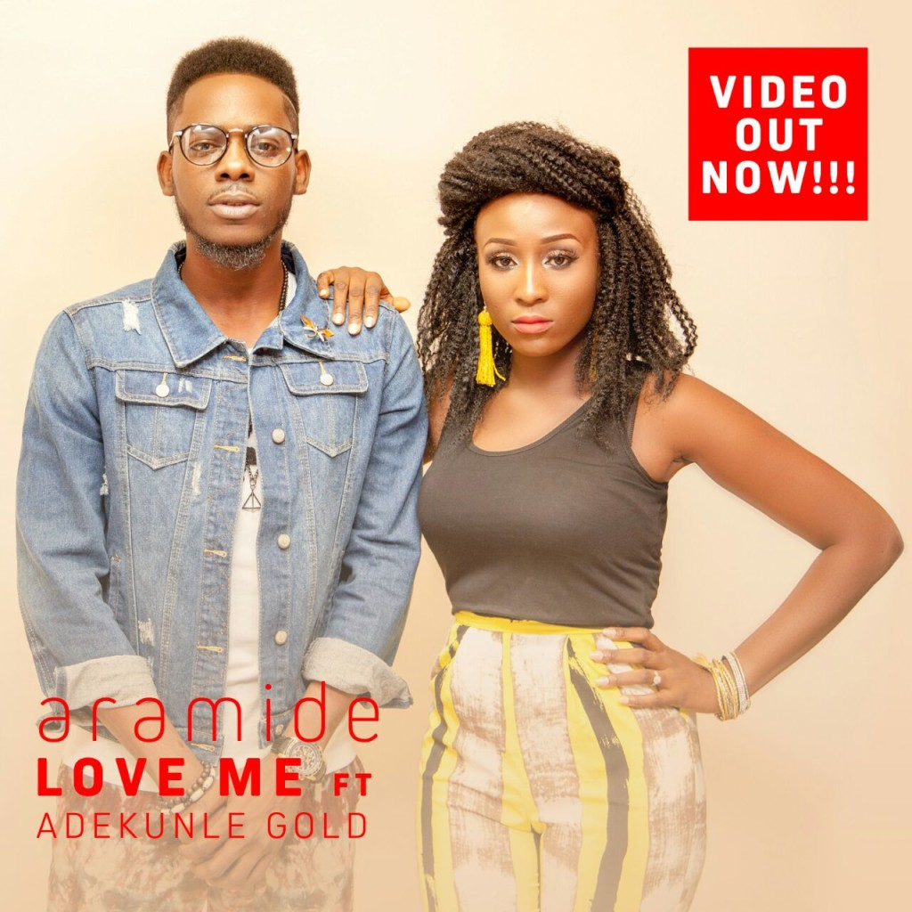 Aramide + Adekunle Gold (Love Me Video art)