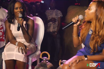 VIDEO: Tiwa Savage's R.E.D Album Listening Party by DZRPT