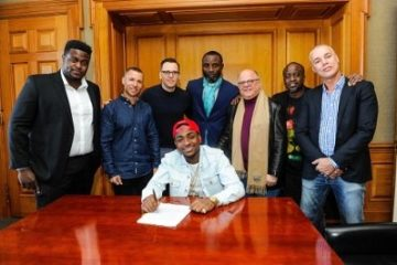 Sony Music Entertainment Official Press Release About Davido's Worldwide Multi-Album Deal