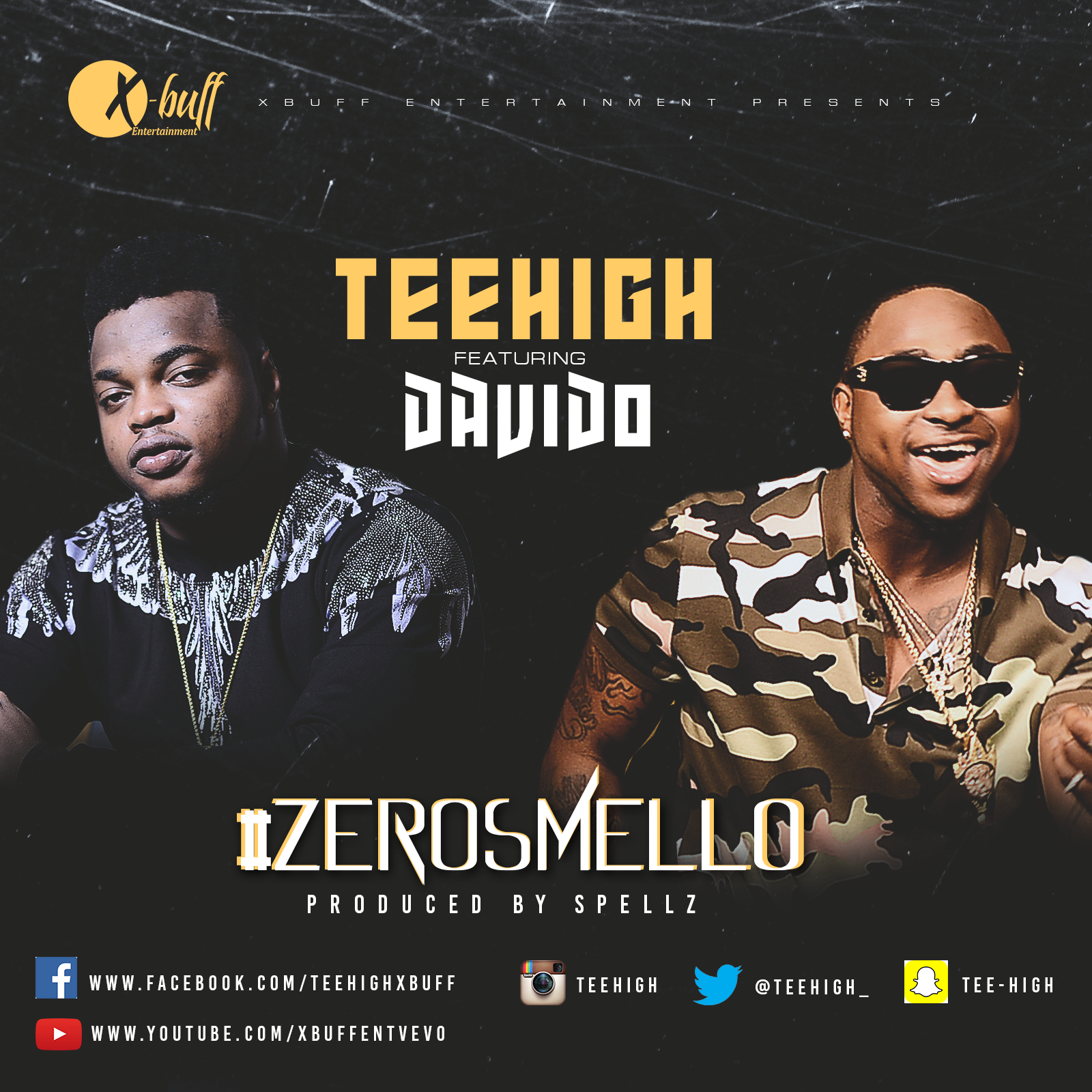 TeeHigh ft. Davido - Zero Smello (Prod. By Spellz) | B-T-S