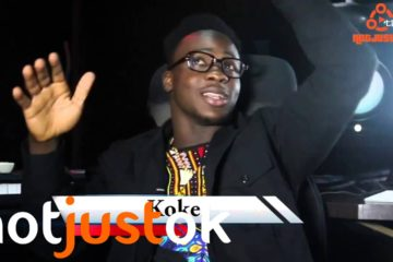 Notjustok TV: Koker Talks Success of 'Do Something' + Signing to Chocolate City