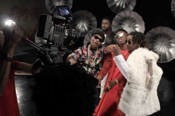 Lk Kuddy ft. Yung6ix & Wizkid – With You (Remix) | B-T-S Photos
