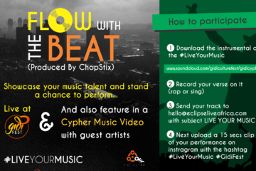 Gidi Fest Presents: FLOW WITH THE BEAT (The Gidi Cypher Edition)