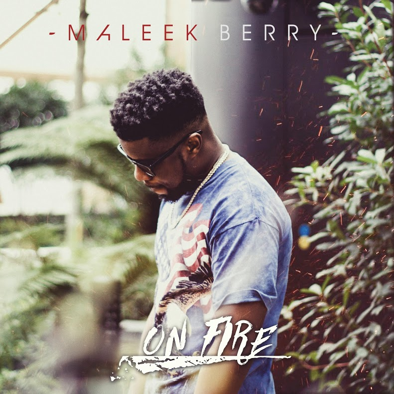 Maleek Berry On Fire Art