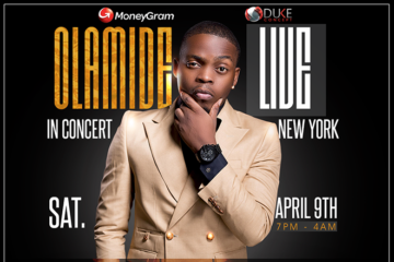 "MoneyGram ""Olamide Live in Concert New York"""