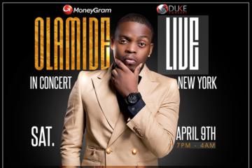 """MoneyGram """"Olamide Live in Concert New York"""""""