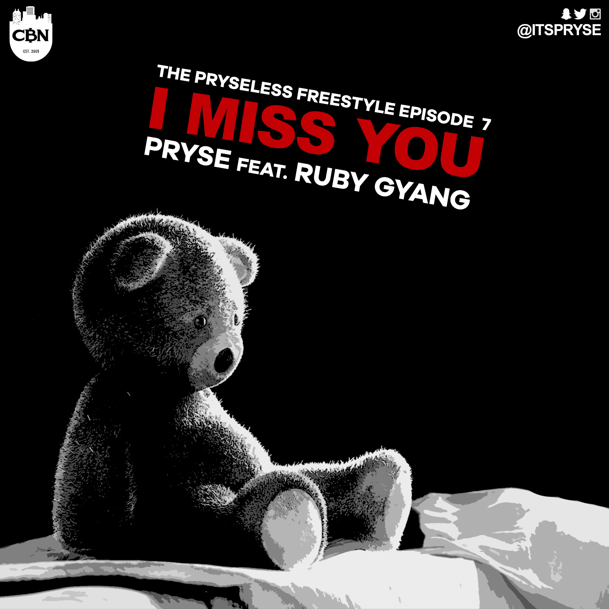 Pryse Ruby I Miss You Art