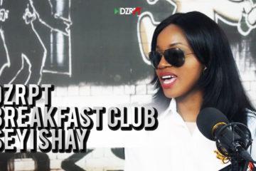 VIDEO: Seyi Shay Talks To The Breakfast Club on DZRPT TV