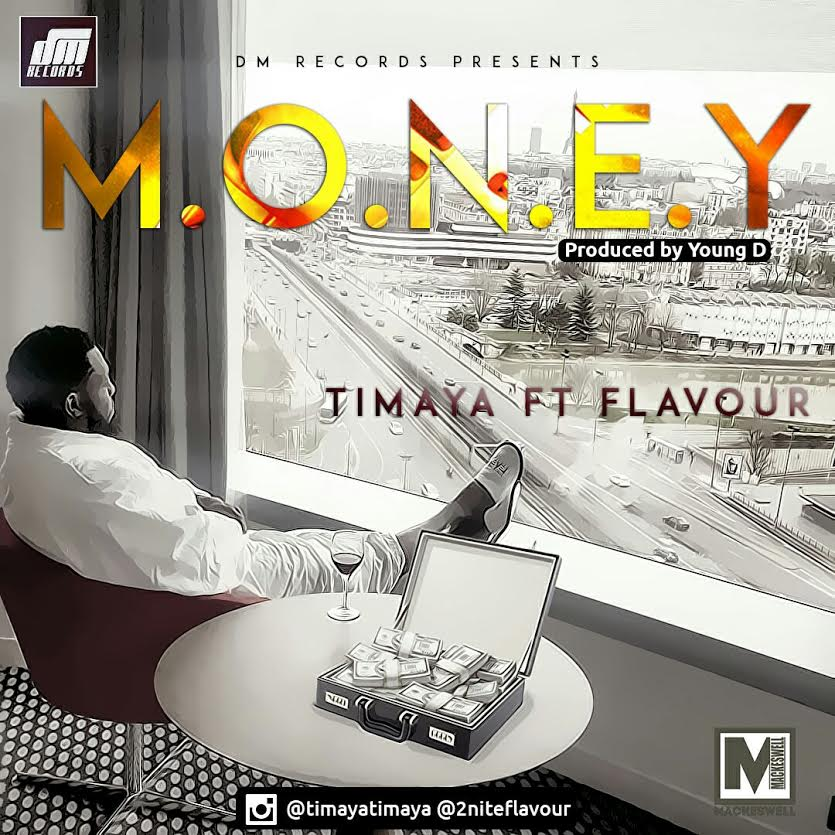 Timaya Flavour Money Art