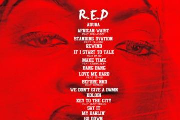 "Tiwa Savage – ""R.E.D"" | View Album Tracklist"