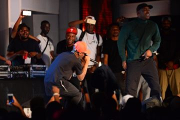 "VIDEO: Wizkid and Skepta Perform ""Ojuelegba"" at BeatFM Xmas Party"