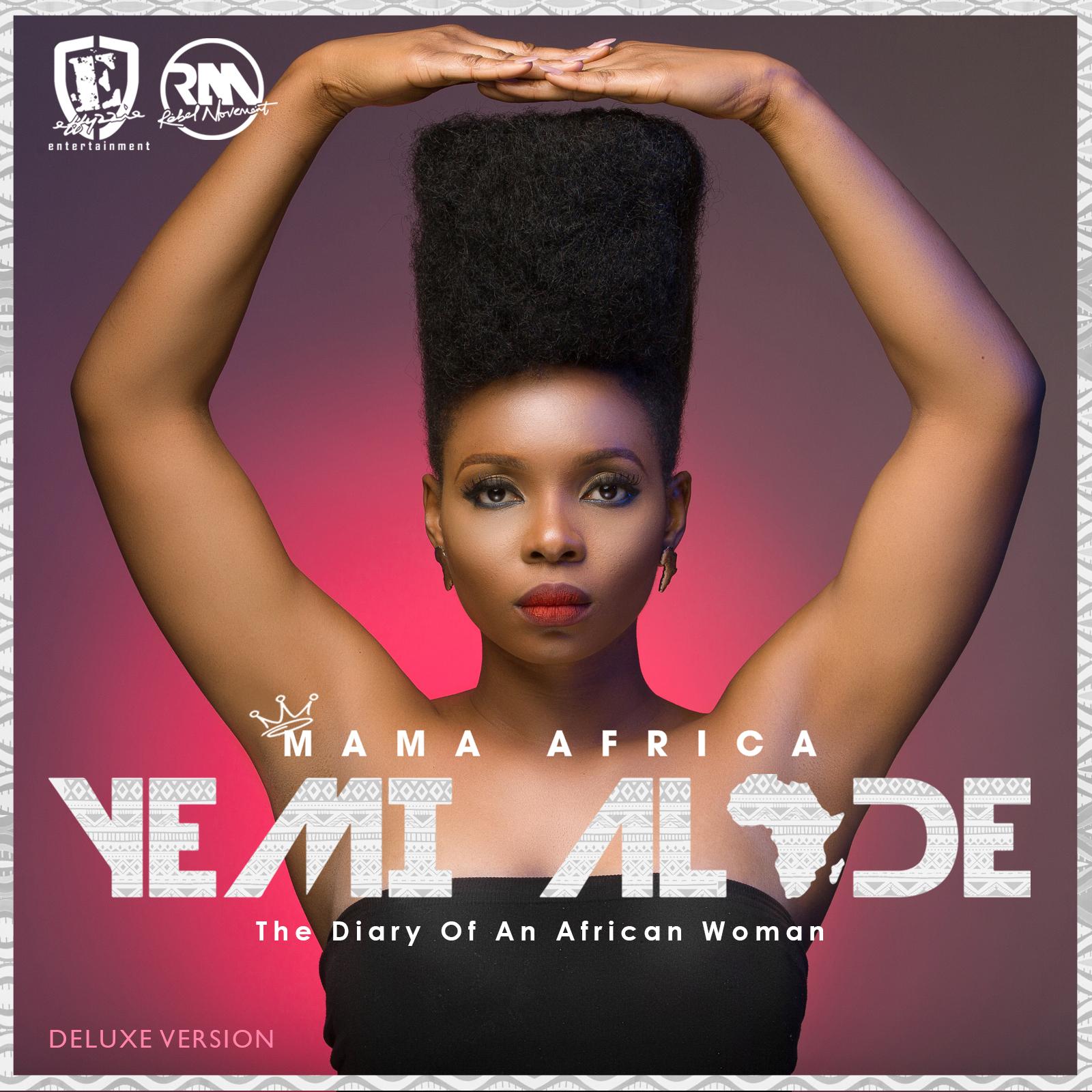 Yemi Alade - Mama Africa [Deluxe Album Cover Art]