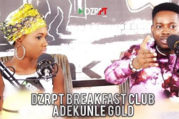VIDEO: Adekunle Gold Talks To The Breakfast Club on DZRPT TV