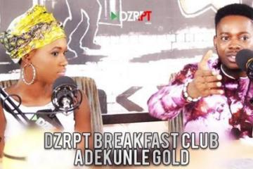 VIDEO: Adekunle Gold Talks To The Breakfast Club on DZRPT TV