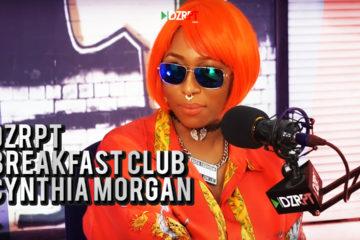VIDEO: Cynthia Morgan Talks To The Breakfast Club on DZRPT TV