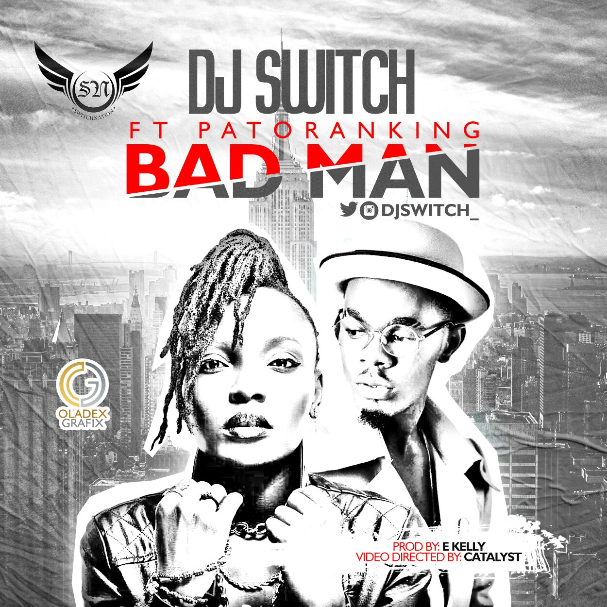 VIDEO: DJ Switch ft. Patoranking - Bad Man
