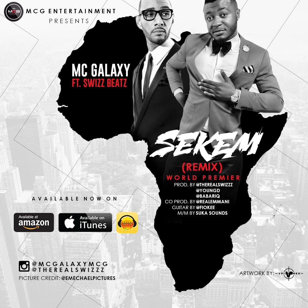 MC Galaxy ft. Swizz Beatz - Sekem (Remix)