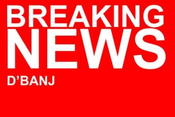 PREMIERE: D'Banj – Breaking News (Prod. Sarz x DJ  Marphorisa)