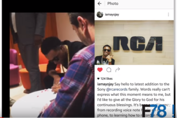 "F78 News: Ayo Jay Signs w/ RCA Records, Mr Eazi says ""Stop Sending Me Nudes"""