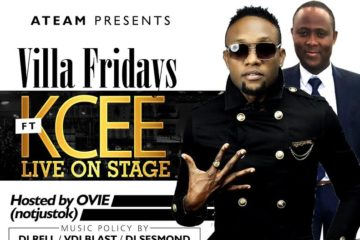 Kcee Live In Concert | Ovie (NotJustOk) Birthday Bash | This Friday @ Villa Lounge, Dallas | #VillaFridays